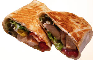 NEW Grilled Wraps